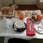 Breakfast- 12 euros