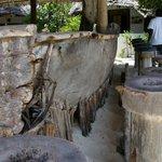 Bardisken av gamla Dhowe båtar