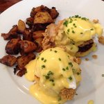 oyster benedict