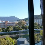 Back view of the apartment (facing Table Mountain)