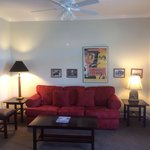 Oklahoma Suite living room