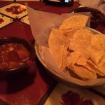 Great chips & salsa