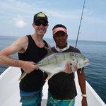 Moi et Rolando de Samara Fishing Trip