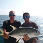 Stephane et Nan de Samara Fishing Trip