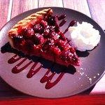 Deserte du jour - tarte au framboises