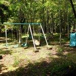 juegos y bosque