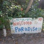 Eingang zum Paradies