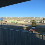 Motel 6 in Rock Springs WY - view out window