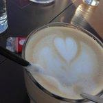 Der Kaffee ist ausgezeichnet