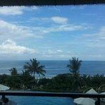 View dari balkon hotel