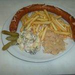 Piatto Oktoberfest con Wurstel bavarese SUPERLUNGO