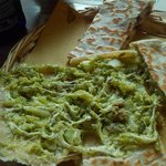 Piadina con soli broccoli