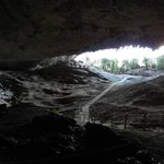 Dentro da Cueva.