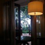 View to balkon