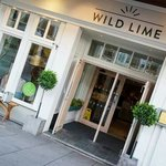 The wild lime bar and kitchen.