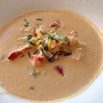 Lobster bisque - superb!