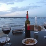 Restaurants by the estuary - easy walking distance