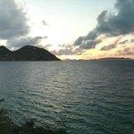 Sunrise panorama from Avacado