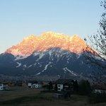 Sonnenuntergang Zugspitze