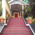 Path towards mandir and mall road