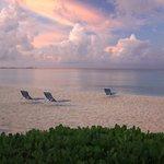 Morning beach view.