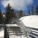 Boardwalk to the summit