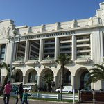 Front of Hotel on Promenade des Anglais