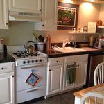 Kitchenette in Studio suite