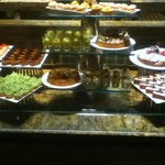 Dessert Display At The Buffet