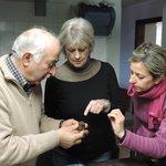 Examining a noble truffle