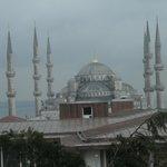 La Mosquée Bleue vue de la chambre 307