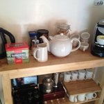 Yorkshire tea and fresh Nespresso!