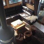 Very comfortable lounge area!