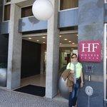 FRENTE DO HOTEL HF FENIX MARQUES DO POMB