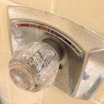 Nasty looking faucet handle