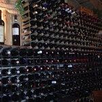 Il muro dei vini... Fantastico
