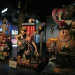 Fallas sculptures