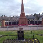 Memorial to soldiers of The Great War.