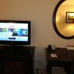 Television & Mirror