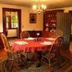 The Inn's dining room.