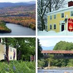 The Inn through the seasons and the surrounding area.