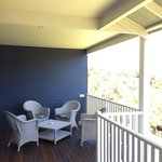 'Main' balcony on the apartment