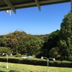 View over the gardens of Caves House