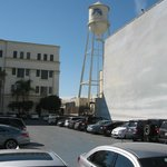 The water tower at Paramount