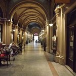 arcade in Vienna