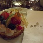 A treat from Cafe Demel