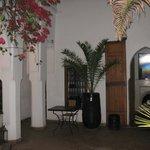 binnenkoer van de Riad
