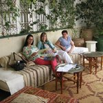 relaxen 1ste verdieping Riad