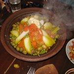 tagine (uitstap Atlas gebergte, eten bij Berber familie)