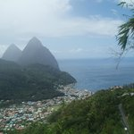 Pitons from the land